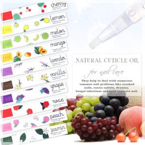 【最新ナチュラルキューティクルオイル】極上保湿 10種類のアロマな香りでリラックス 化粧品